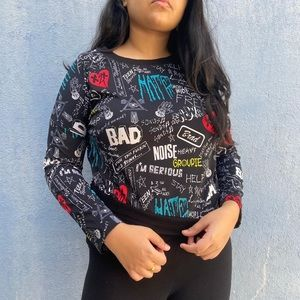 Graphic Top/ Sweater